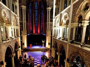 De Posthoornkerk te Amsterdam, locatie van het congres.